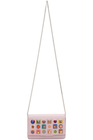Fendi - ピンク レインボー チューブ ウォレット バッグ