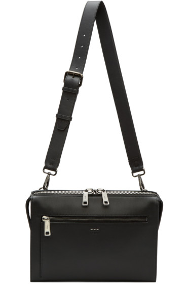 Fendi - Black Document Holder Bag