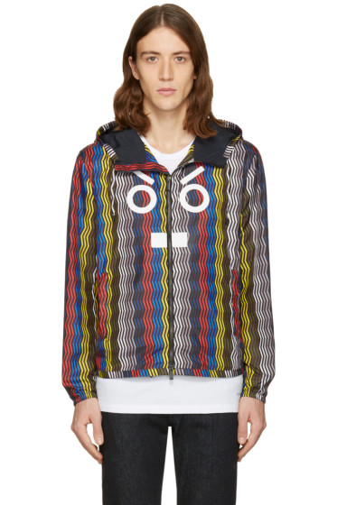 Fendi - Multicolr 'Fendi Faces' Zig Zag Jacket