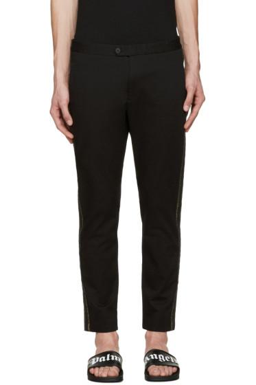 Palm Angels - Black Slim Side Stripe Trousers