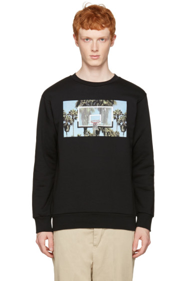 Palm Angels - Black Buzzer Beater Pullover