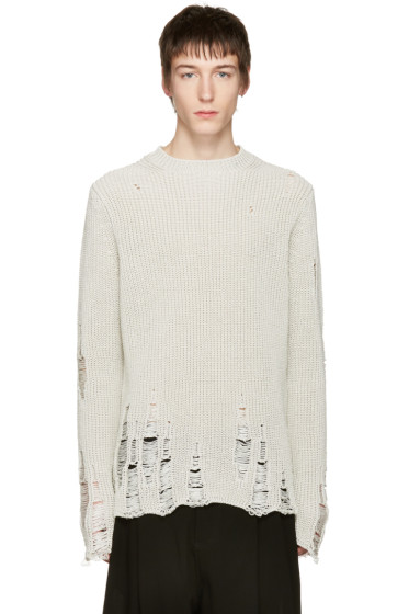 Song for the Mute - Ivory Oversized Beau Sweater