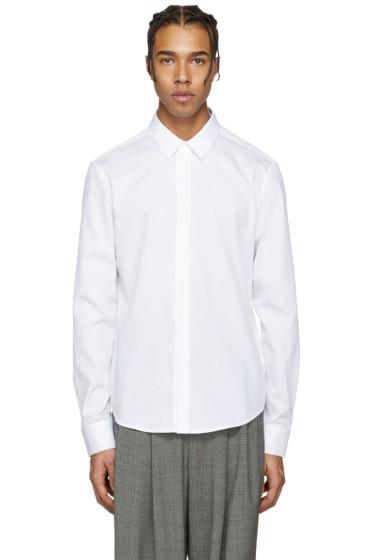 Wooyoungmi - ホワイト コットン シャツ