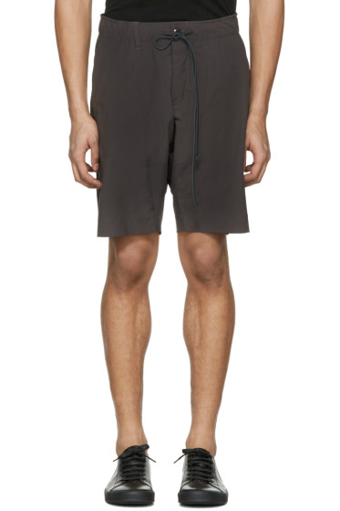 Attachment - Grey Slim Shorts
