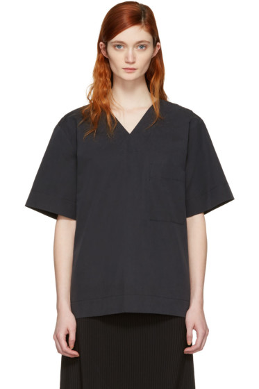 Craig Green - Black V-Neck Blouse