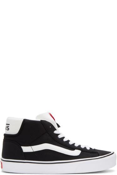 Vans - Black Schoeller Edition Mid Skool Lite LX Sneakers