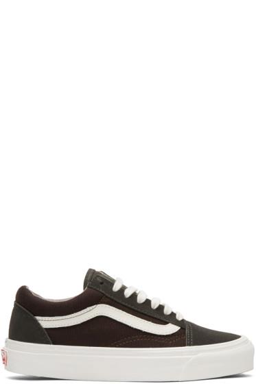 Vans - Brown OG Old Skool LX Sneakers