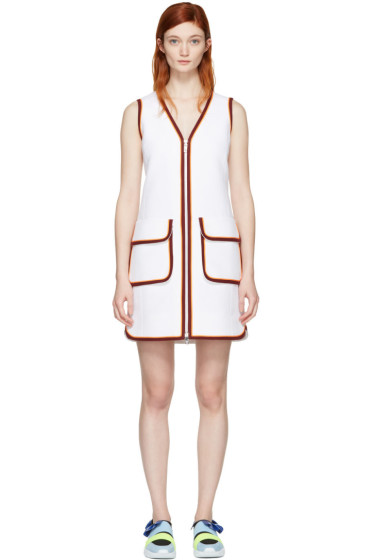 Emilio Pucci - White Zip Dress