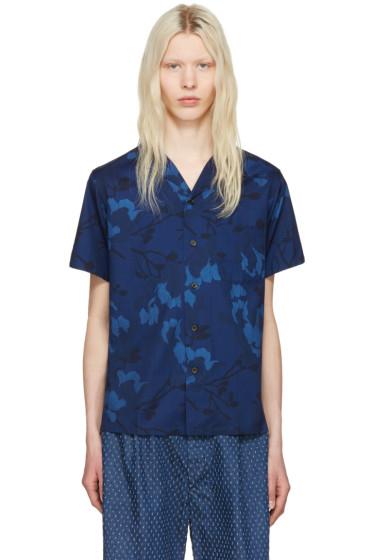 Blue Blue Japan - Blue Magnolia Shirt