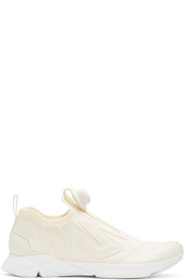 Reebok Classics - Off-White Pump Supreme Guerilla Sneakers