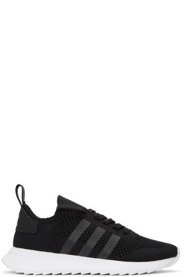 adidas Originals - ブラック フラッシュバック スニーカー