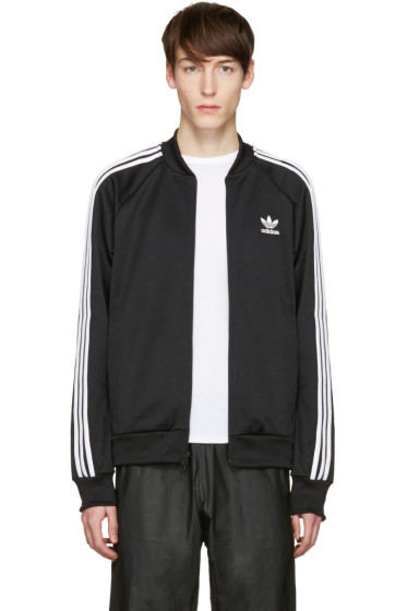 adidas Originals - Black SST Relax Track Jacket