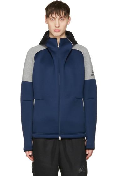 Adidas x Kolor - Navy Z.N.E Hoodie
