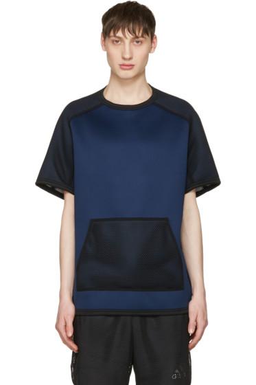 Adidas x Kolor - Navy Short Sleeve Crew Pullover