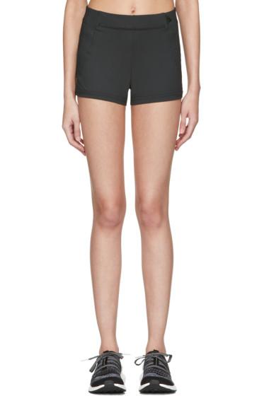 adidas by Stella McCartney - Black Spandex Train Shorts