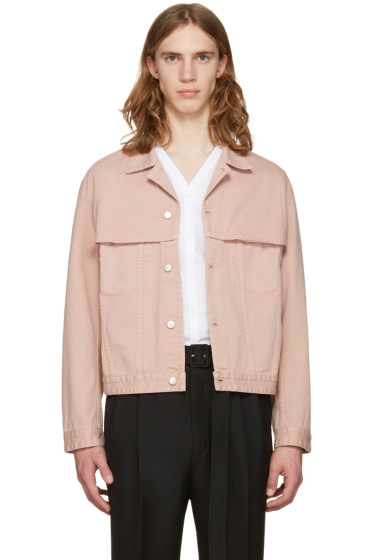 CMMN SWDN - Pink Denim Brody Jacket