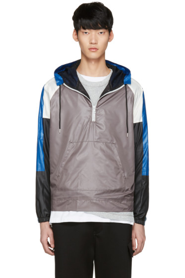 John Elliott - Grey Sail Windbreaker Jacket