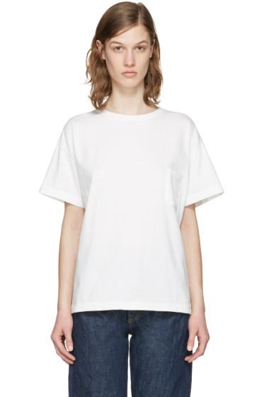 Chimala - オフホワイト ポケット T シャツ