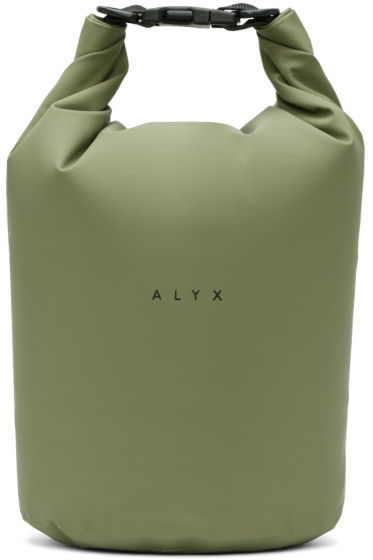 Alyx - Green Mini Dry Bag Tote