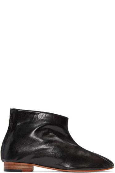 Martiniano - ブラック レオーネ ブーツ