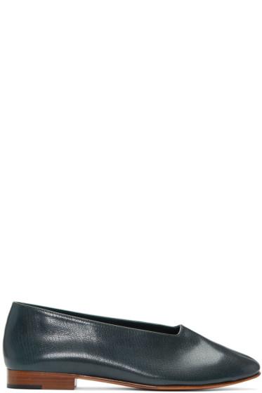 Martiniano - Green Glove Flats