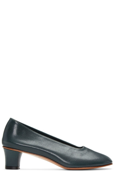 Martiniano - Green High Glove Heels