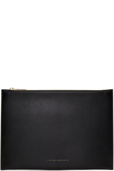 Victoria Beckham - Black Large Simple Pouch