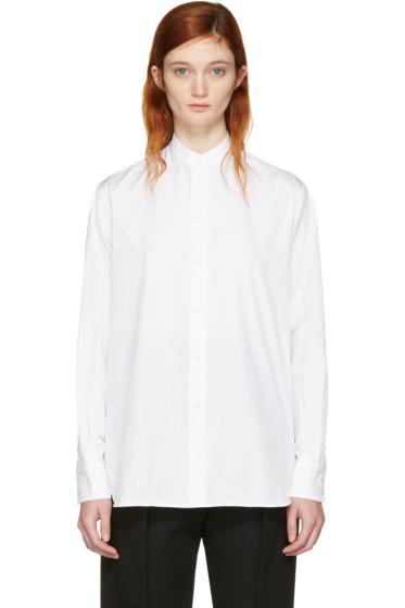 Victoria Beckham - White Grandad Shirt