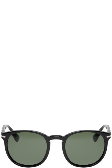 Persol - Black Round Sunglasses