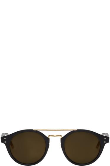 Bottega Veneta - ブラック レトロ パントス サングラス