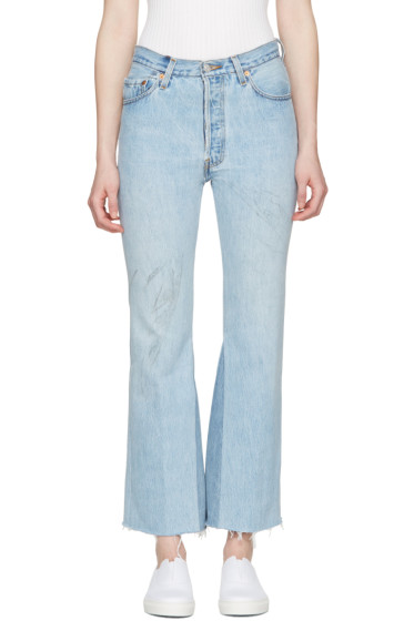 Re/Done - Blue The Leandra Jeans