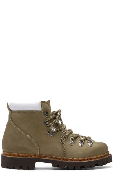 and Wander - Beige Paraboot Edition Trekking Boots