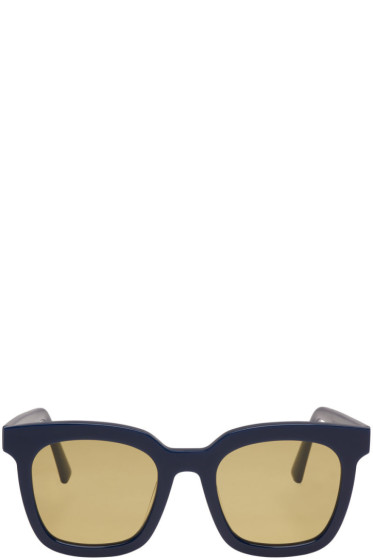 Gentle Monster - Navy Finn Sunglasses