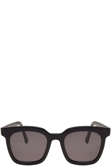Gentle Monster - Black Finn Sunglasses