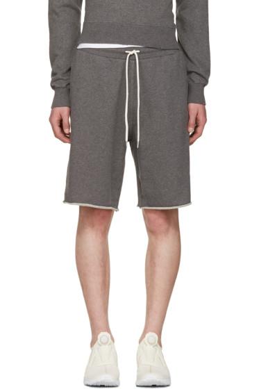 Han Kjobenhavn - Grey Chino Lounge Shorts