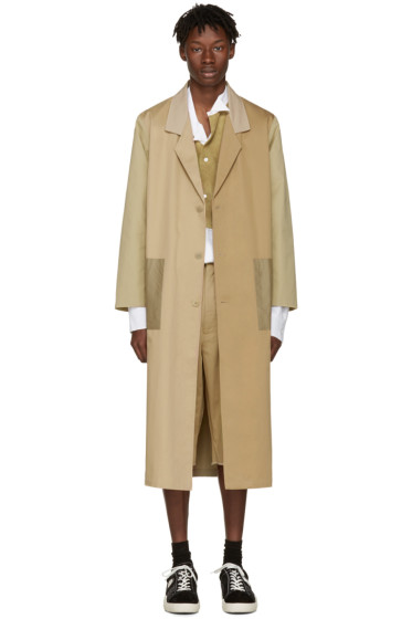 Bless - Beige Mix Work Coat