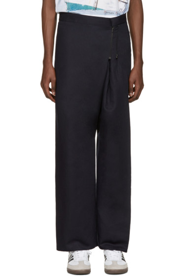 Bless - Navy Zipper Trousers