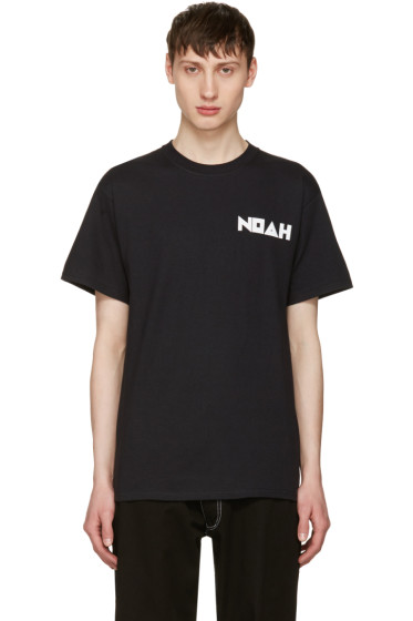 Noah NYC - Black Jody Logo T-Shirt