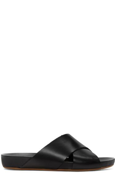 ATP Atelier - ブラック ドリス サンダル