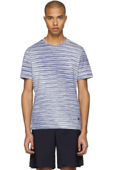 Missoni - Blue Striped T-Shirt