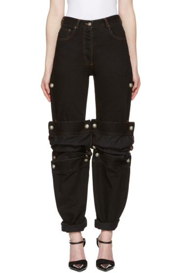 Y/Project - Black Cufflink Jeans