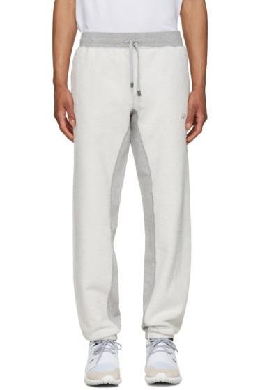 adidas Originals by Alexander Wang - Grey Inout Jogger Lounge Pants