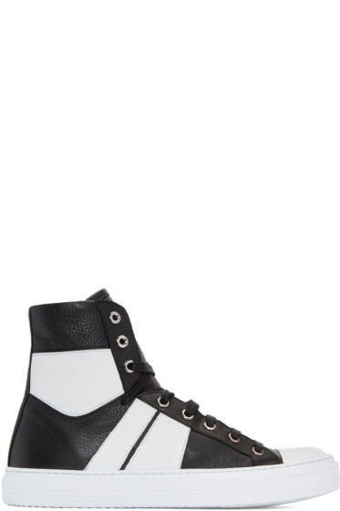 Amiri - Black & White Sunset High-Top Sneakers