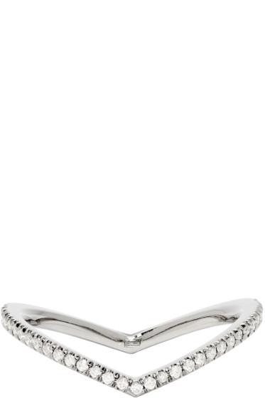 Eva Fehren - Blackened Gold Diamond Private Ring