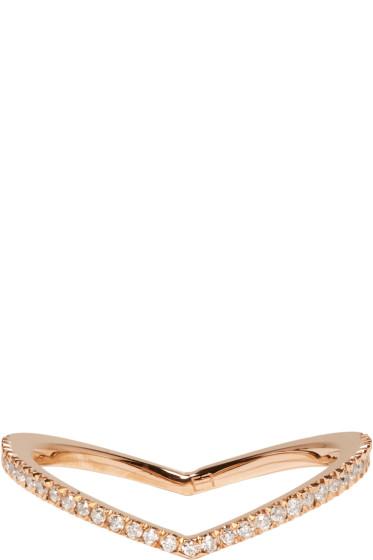 Eva Fehren - Rose Gold Diamond Private Ring