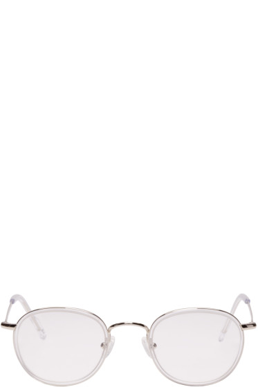 all in - Silver Round Optical Glasses