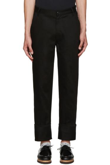 Noah NYC - Black Work Trousers
