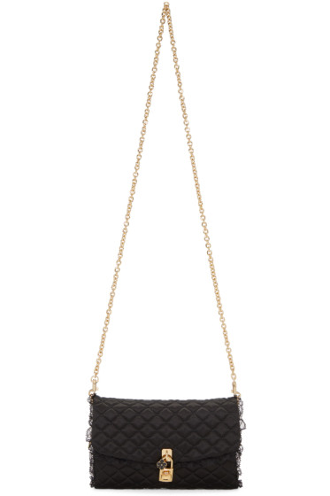 Dolce & Gabbana - Black Quilted Chain Bag