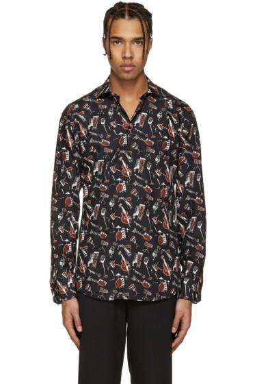 Dolce & Gabbana - Black Instrument Shirt