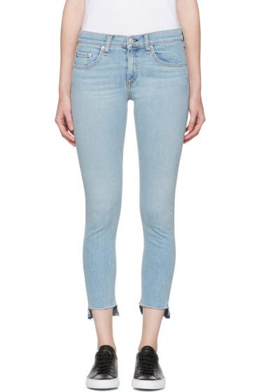 Rag & Bone - Blue Capri Jeans